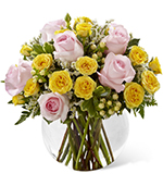 The Soft Serenade Rose Bouquet